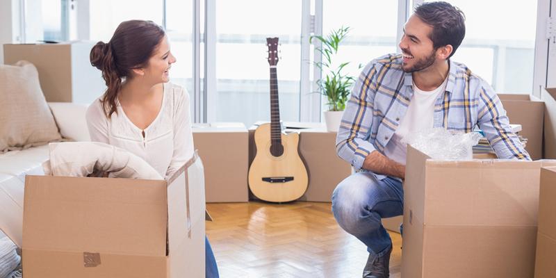 inquilinos en mudanza piso alquiler