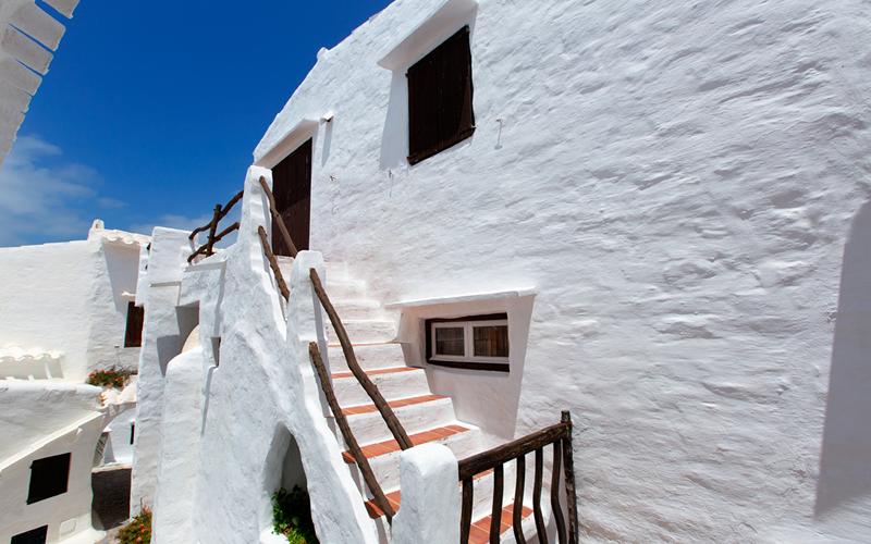 Calle en Menorca