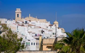 Maó en Menorca en Baleares