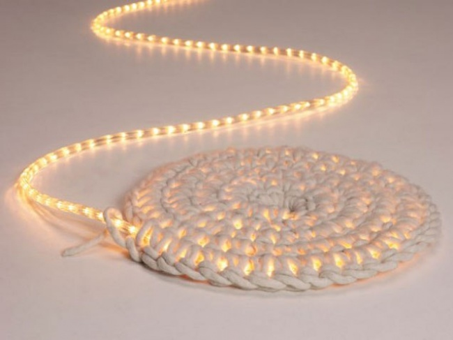 alfombra luminosa