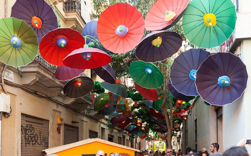 Barcelona en Gracia