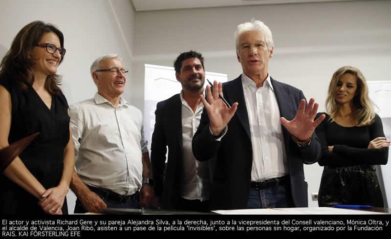 Richard Gere en Valencia