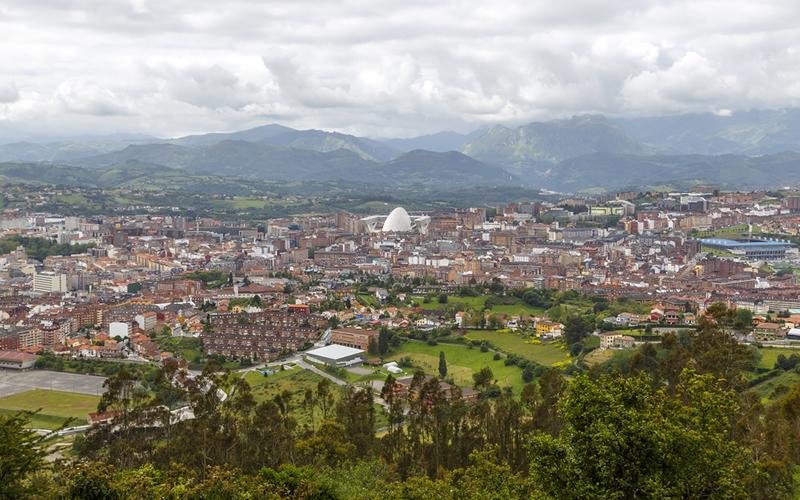 Oviedo en Asturias