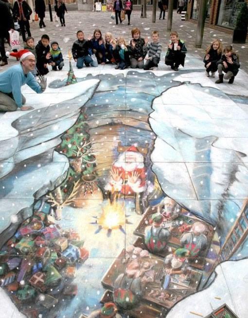 Street Art Navidad