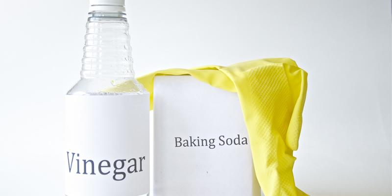 vinagre y bicarbonato