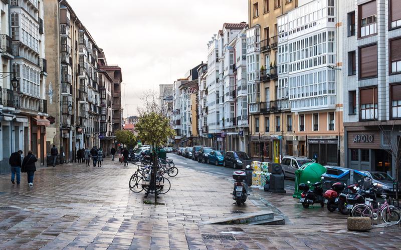 Vitoria en Álava en el País Vasco