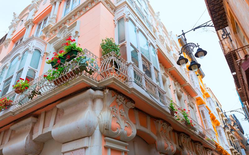Edificio Modernista en Cartagena