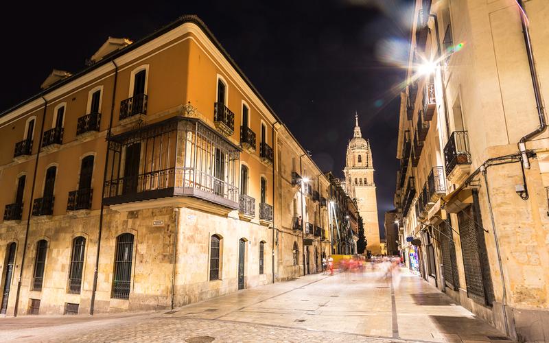 Salamanca en Castilla y Leon