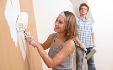 pintar piso en alquiler