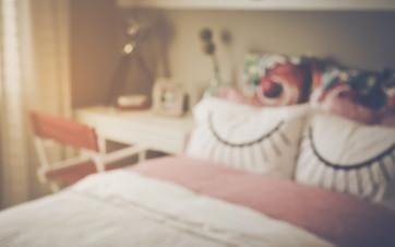 dormitorio en piso en alquiler