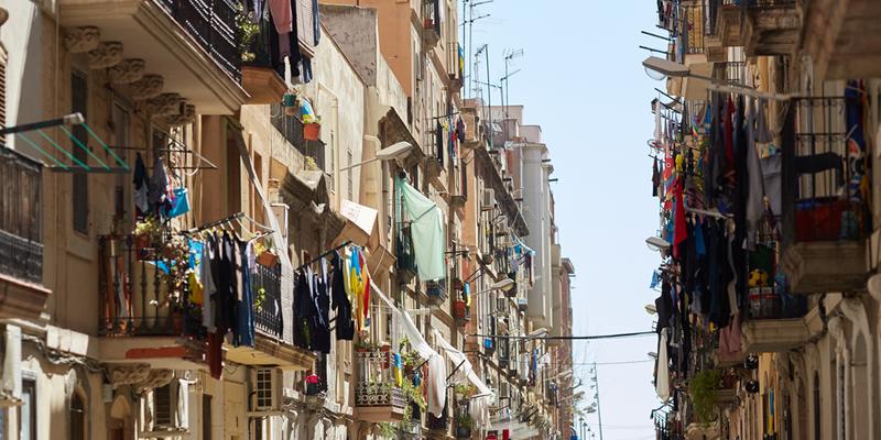 calle de barrio