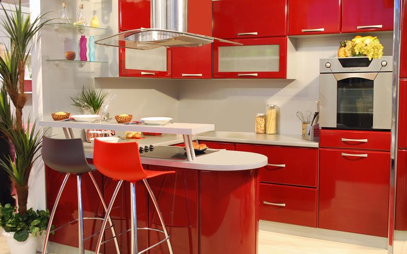 cocina de piso en alquiler