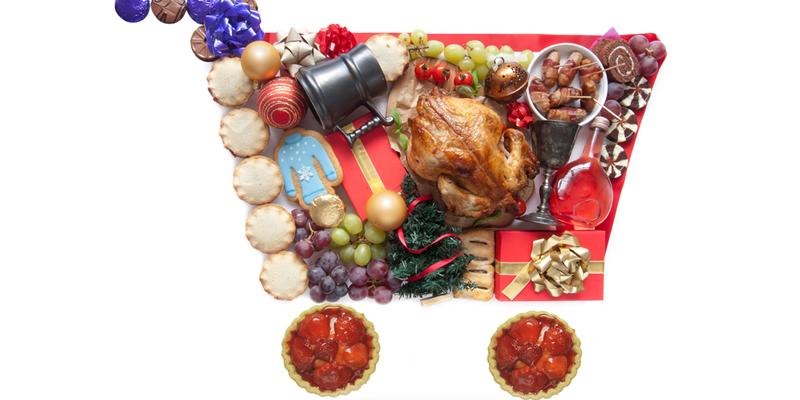 comprar comida en navidad