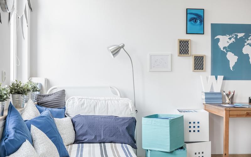 dormitorio de piso en alquiler