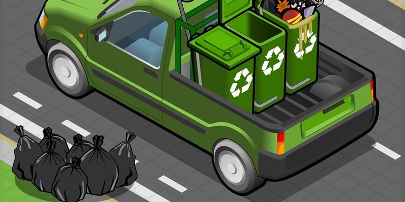 recoger basura piso alquiler