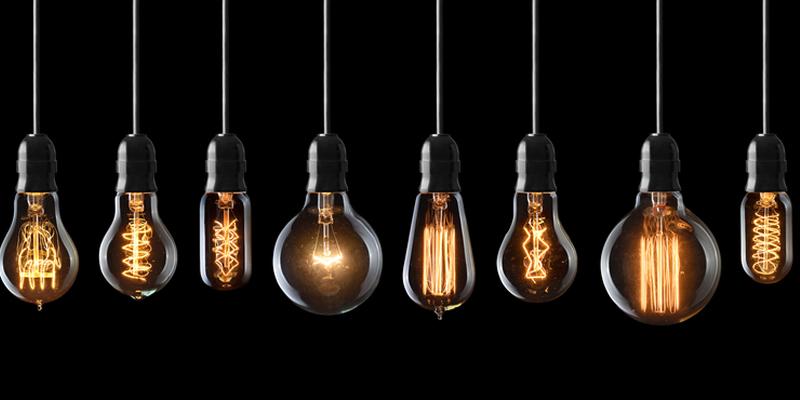 bombillas en piso en alquiler