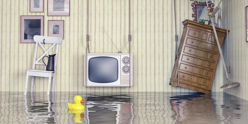 piso en alquiler inundado agua