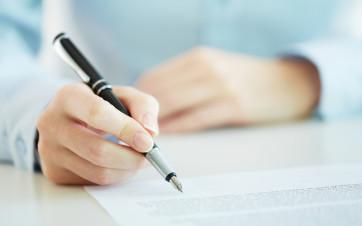 Firmar contrato alquiler piso