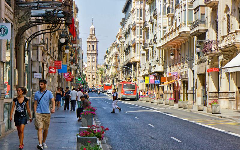 Las calles de Valencia