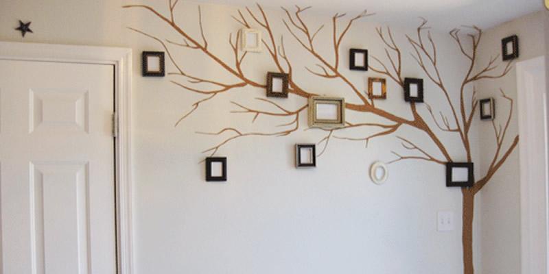 decorar esquina pared