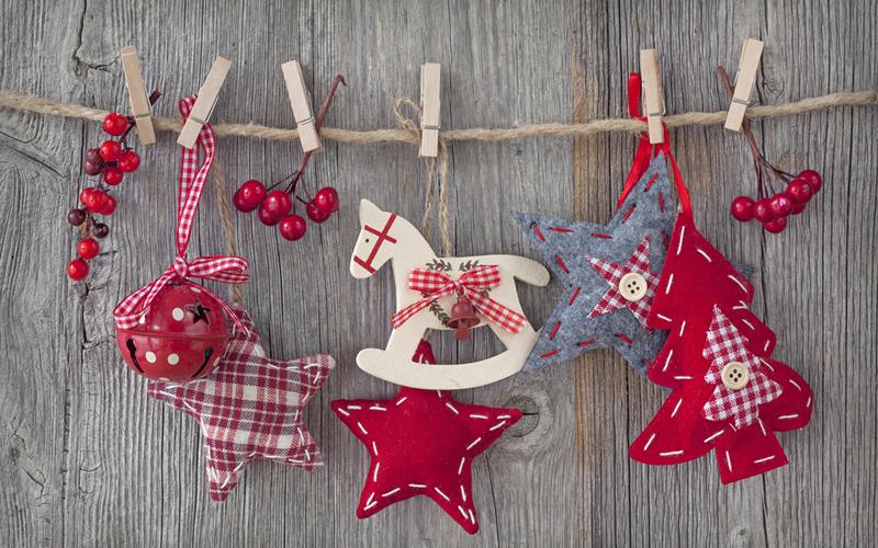ideas para navidad Ideas Low Cost Para Decorar En Navidad Enalquilercom