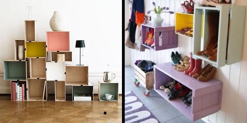estanterias diy reciclar muebles