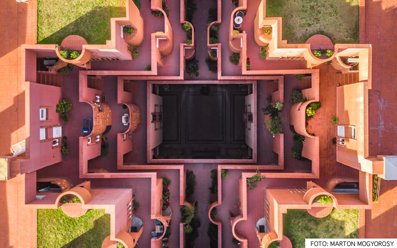 Barcelona desde un dron