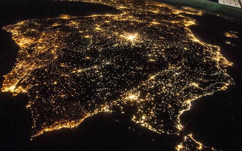 Contaminacion Luminica en Espana