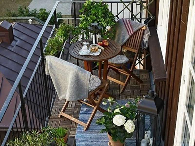Muebles para balcones pequenos